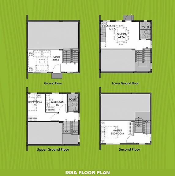 Issa Floor Plan House and Lot in Tagbilaran
